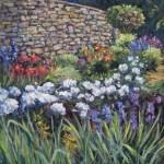 Garden at Olana, oil-linen, 18x24, 2014
