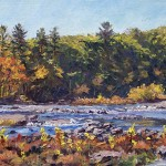 The Catskill, oil-linen, 15x30, 2015